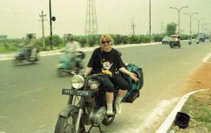 The Enfield ouside Delhi