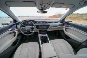 Audi's Virtual Mirror - Screen